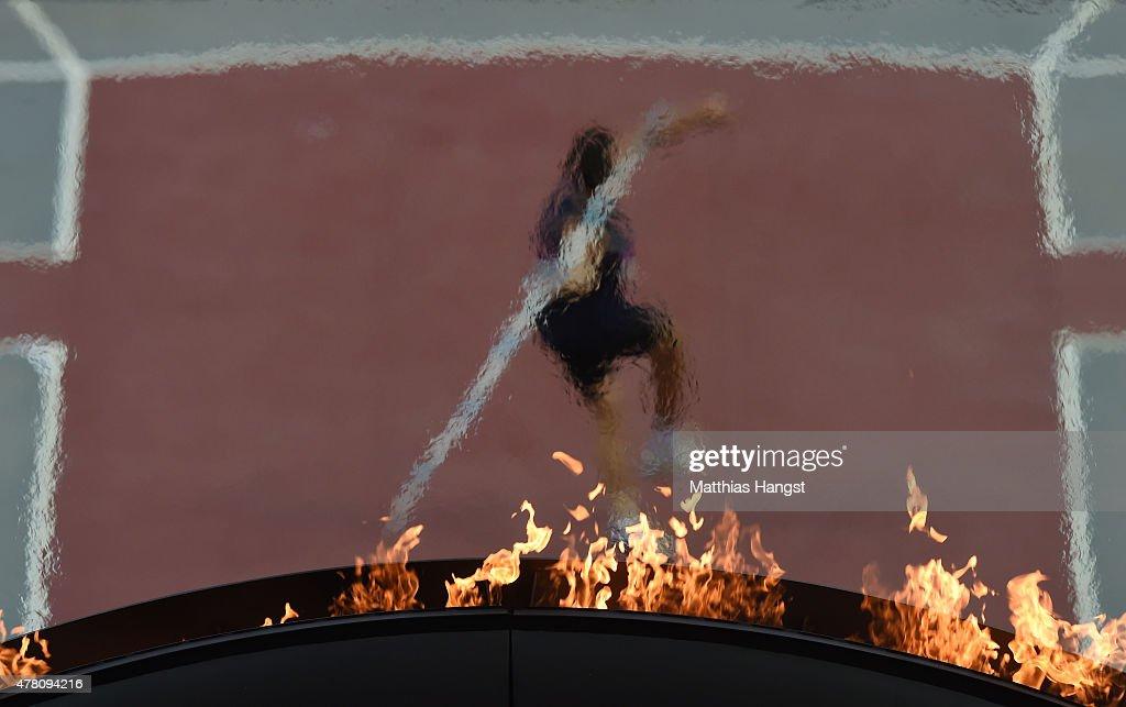 Athletics - Day 10: Baku 2015 - 1st European Games : Nachrichtenfoto
