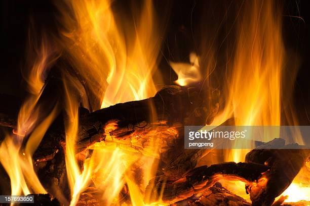 「フレーム - 暖炉の火 ストックフォトと画像