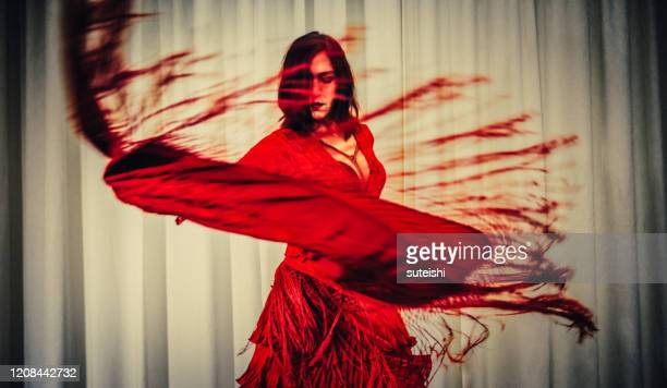 the flamenco dancer - spanish culture stock pictures, royalty-free photos & images