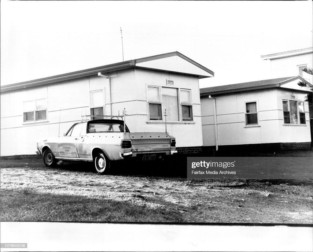The Flat in Sheaffe St, Narooma where Renee Aitken lived. Her bedroom if the third window from the front. : ニュース写真