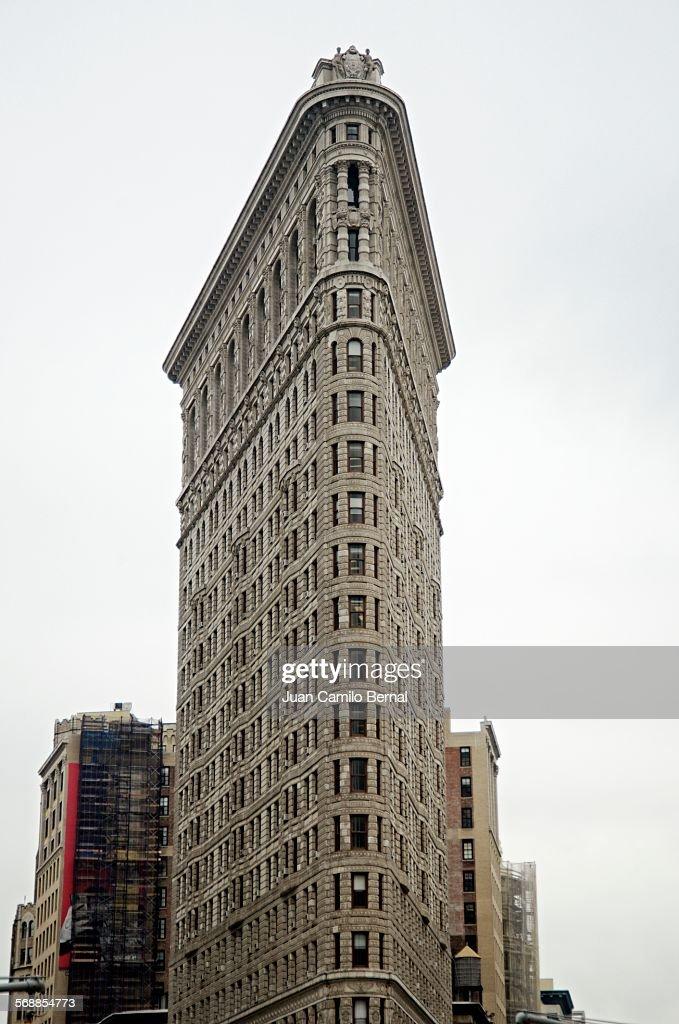 The Flatiron Building in New York City : Stock Photo