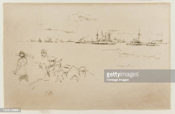 Monitors, 1887. Artist James Abbott McNeill Whistler.