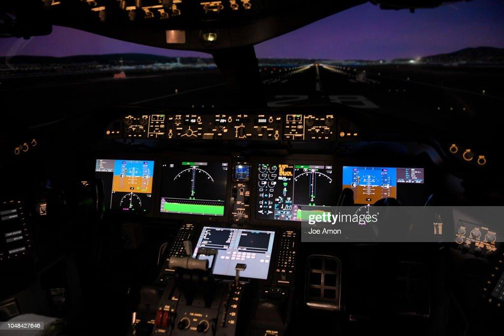 Boeing 787 Flight Simulator