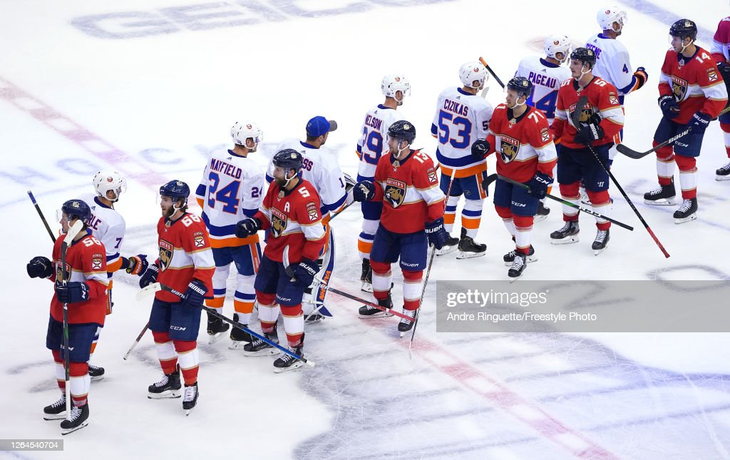 New York Islanders v Florida Panthers : News Photo