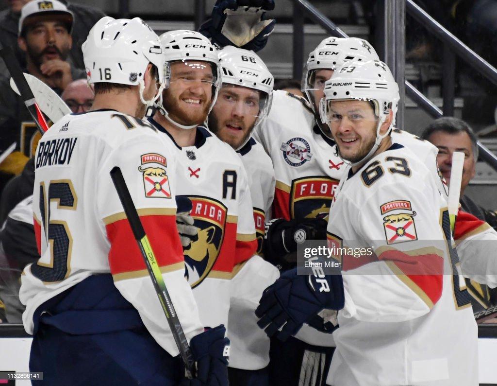 Florida Panthers v Vegas Golden Knights : News Photo