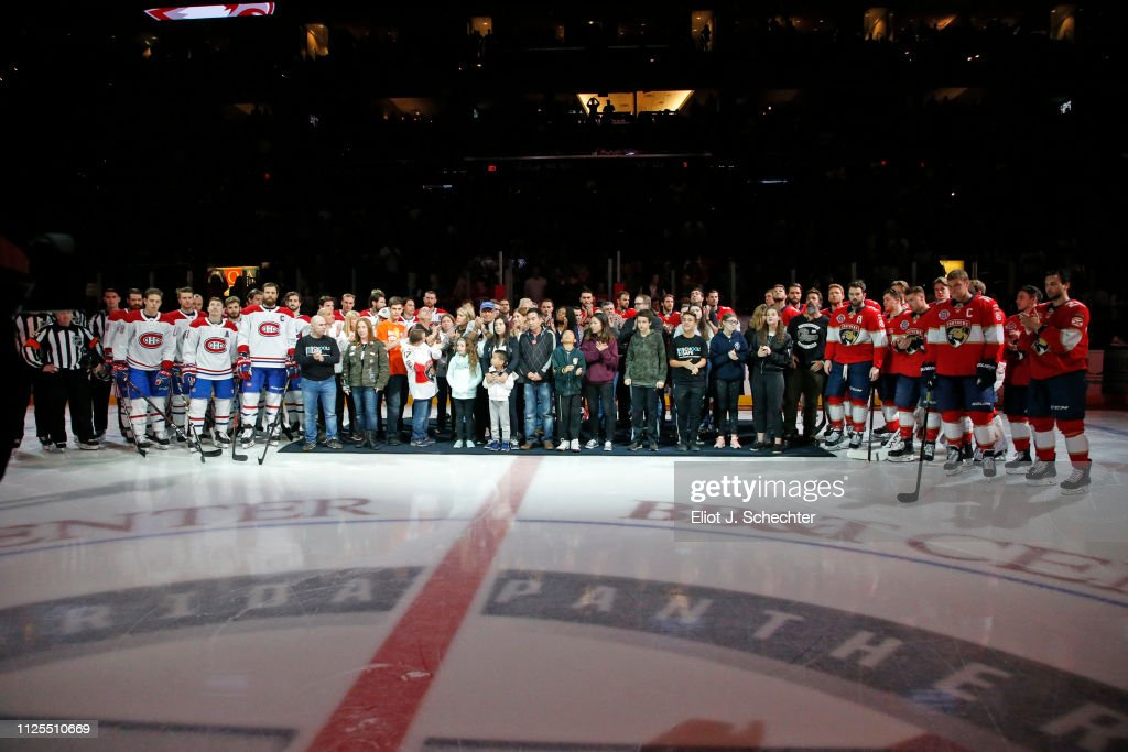 FL: Montreal Canadiens v Florida Panthers