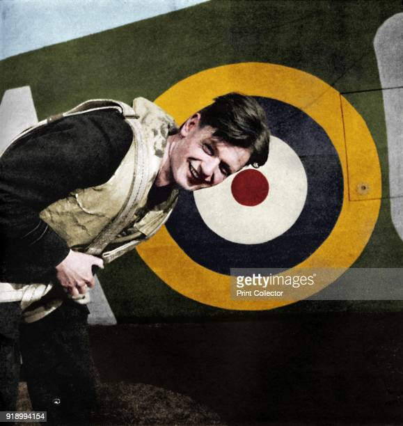 The flourish set on youth ' 1941 Acting Flight Lieutenant Thomas 'Ginger' Neil No 249 Squadron RAF North Weald 1940 A young airman with the RAF...