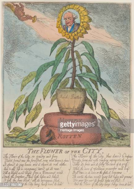 The Flower of the City April 10 1809 Artist Thomas Rowlandson