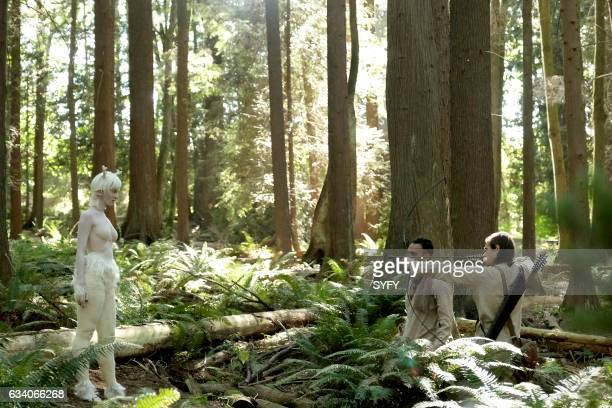 THE MAGICIANS 'The Flying Forest' Episode 204 Pictured Emma Dumont as The White Lady Arjun Gupta as Penny Jason Ralph as Quentin