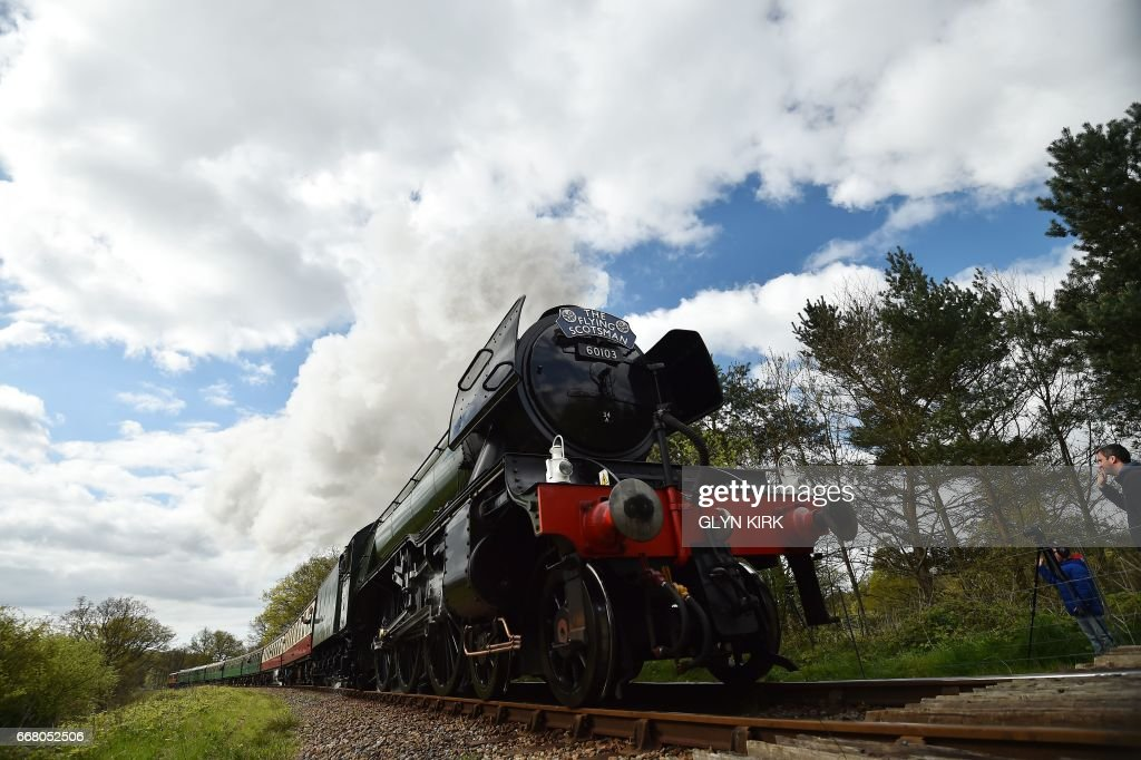 BRITAIN-TRANSPORT-TRAIN-FEATURE : News Photo