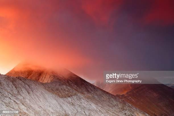 Pirin Mountain, Bulgaria - September 2010: The Foal ridge