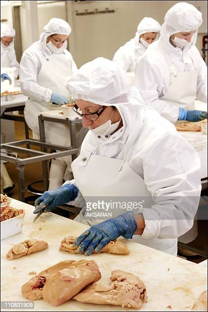 The Foie Gras At 'La Contesse Du Barry' In France On October 31, 2006 - As the end-of-year holidays are approching, the pork butchers , according to...