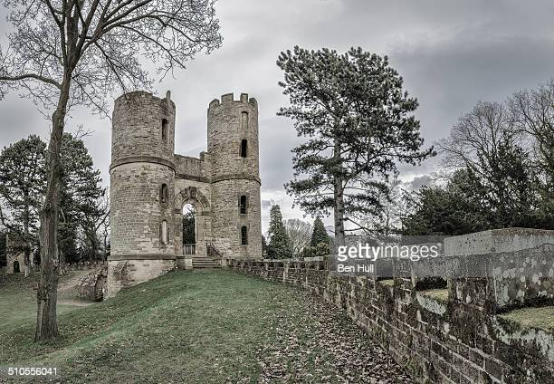 The folly castle at Wentworth House, south Yorkshire.