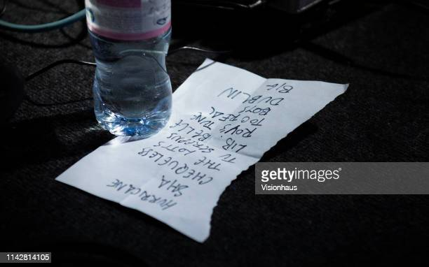 The Fontaines DC set list as they perform at Gorilla on April 13, 2019 in Manchester, United Kingdom.