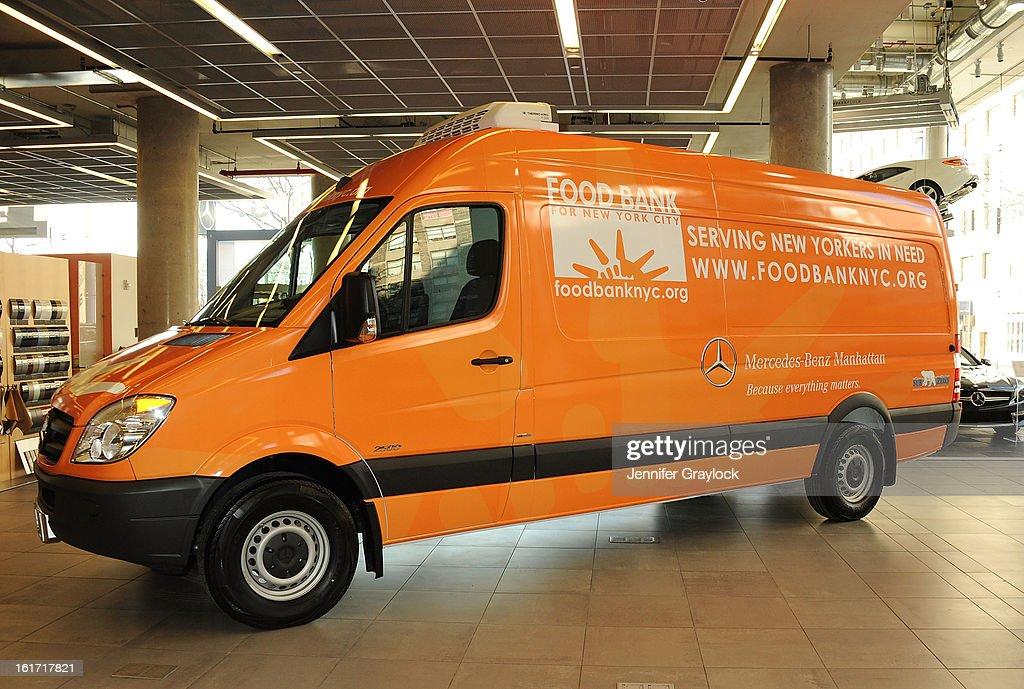 The Food Bank For New York Cityu0027s Sprinter Van Donated By MercedesBenz  Manhattan At The MercedesBenz