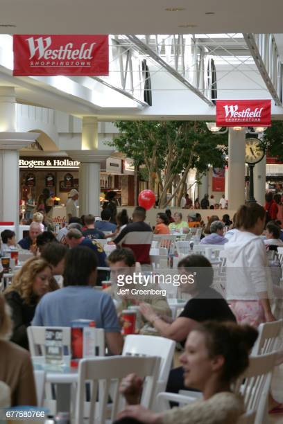 The food court at Westfield Shopping town in Toledo