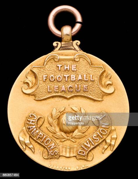 The Football League Division One Champion's Medal awarded to West Bromwich Albion captain Jesse Pennington following the 19191920 season when they...