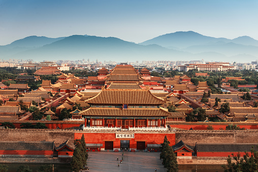 The Forbidden City, Beijing - gettyimageskorea