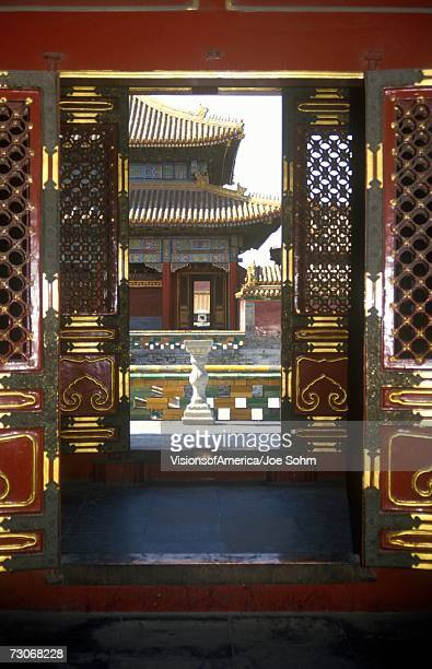 'The Forbidden City - gateway to temples in Beijing in Hebei Province, People's Republic of China'