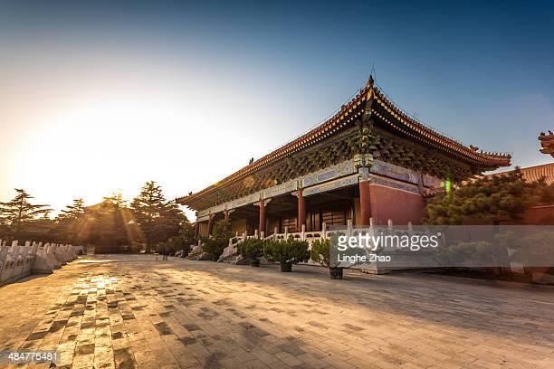 The Forbidden City scenery in beijing
