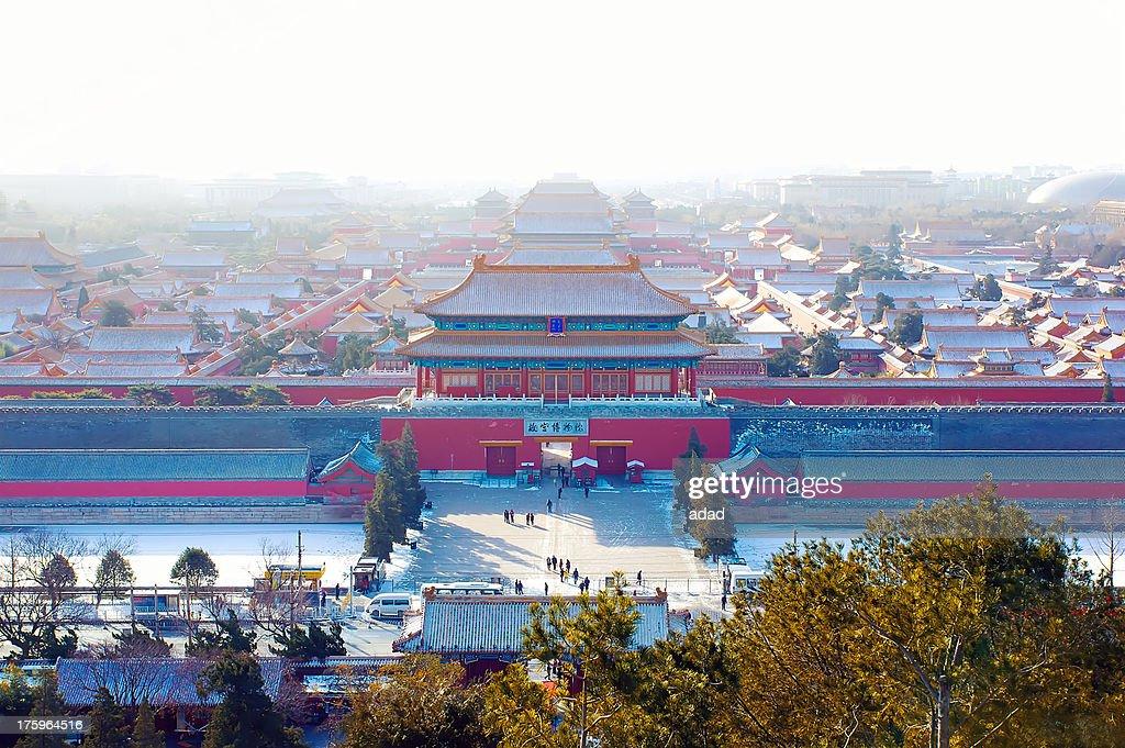The Forbidden City, Winter : Stock Photo