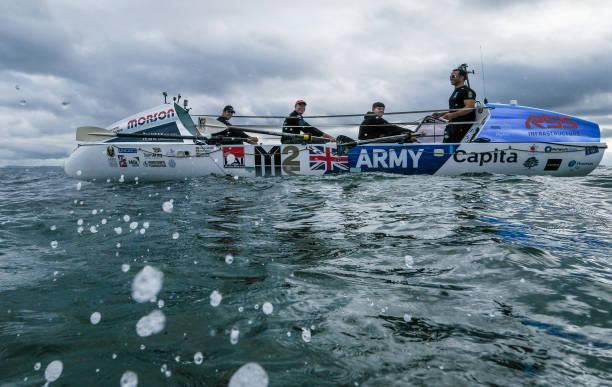 GBR: British Army Crew Force Atlantic Introduce Their Crew Ahead Of 2019 Atlantic Rowing Race