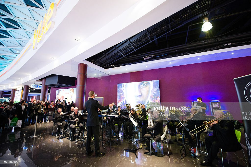 Star Wars Orchestra Performance At Vue Westfield In London : News Photo