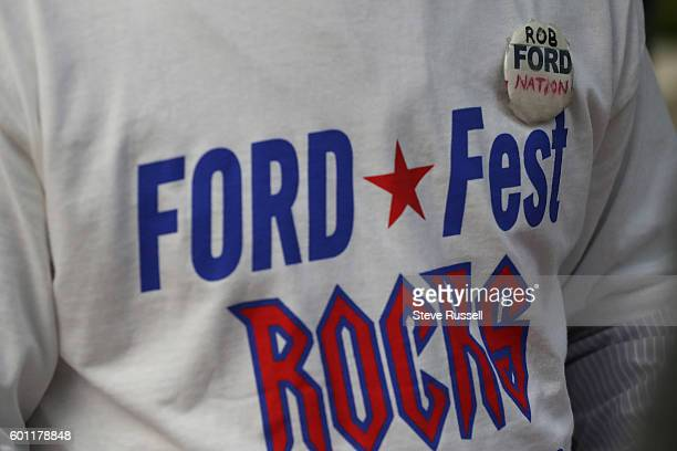 The Ford family holds their annual barbecue, dubbed FordFest, it is the first one since the death of Rob Ford. The event is held in the backyard of...