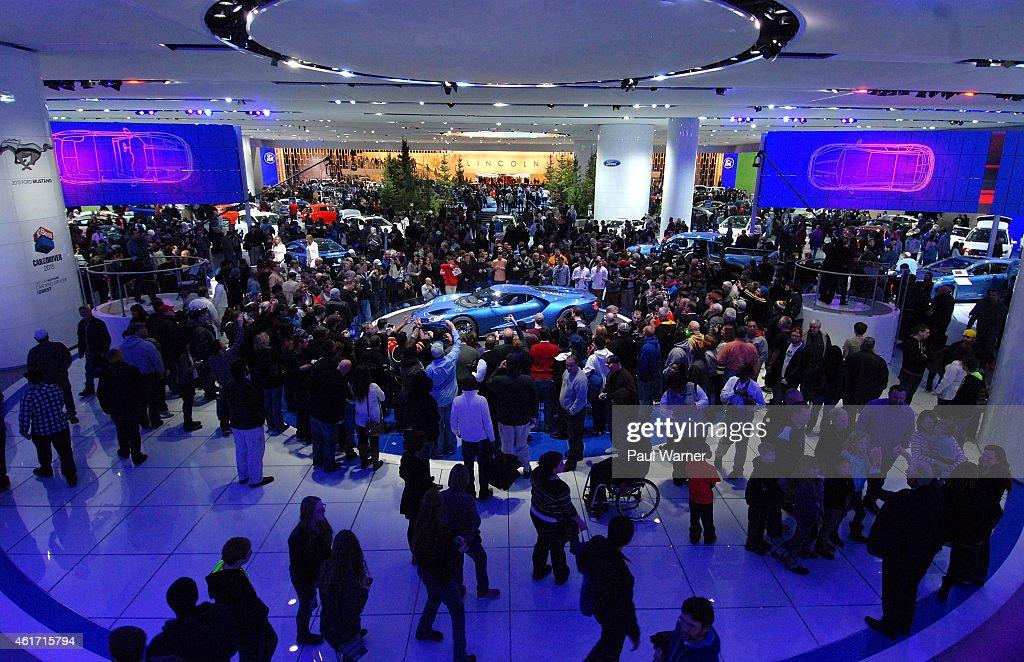 2015 North American International Auto Show : ニュース写真