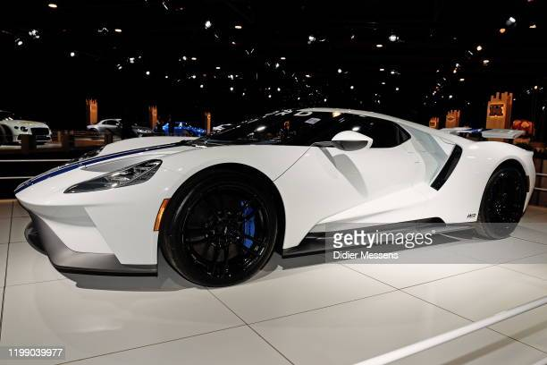 The Ford GT on display at the Dream Car exposition, which is part of the Brussels Motor Show on January 9, 2020 in Brussels, Belgium.