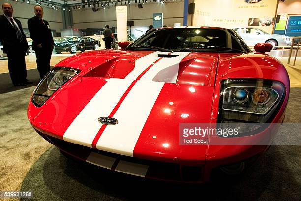 The Ford GT Powered by a supercharged 54 litre V8 $12100000 US On show at the Los Angeles Auto Show at the Los Angeles Convention Center from January...