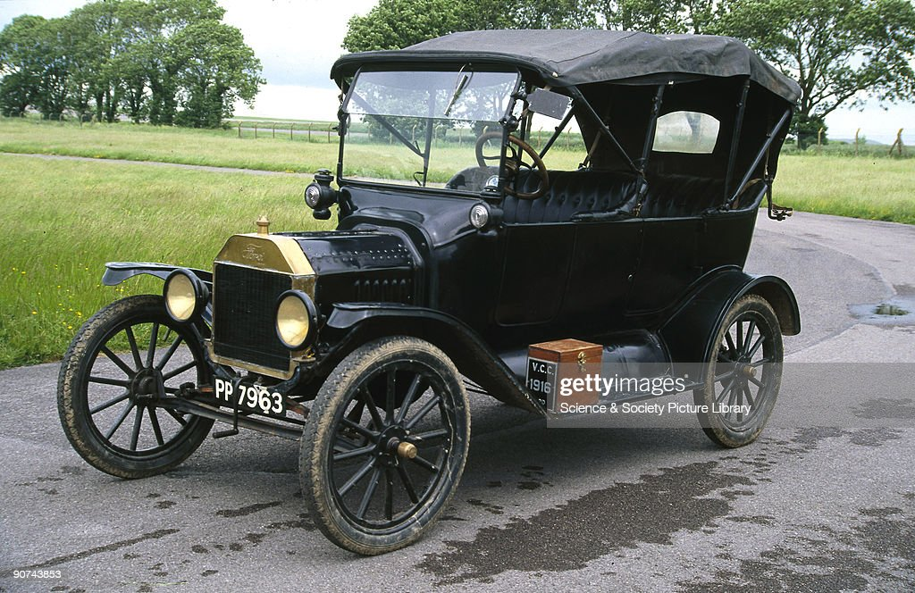 Ford Model T four-seat tourer motor car, 1916. Pictures | Getty Images