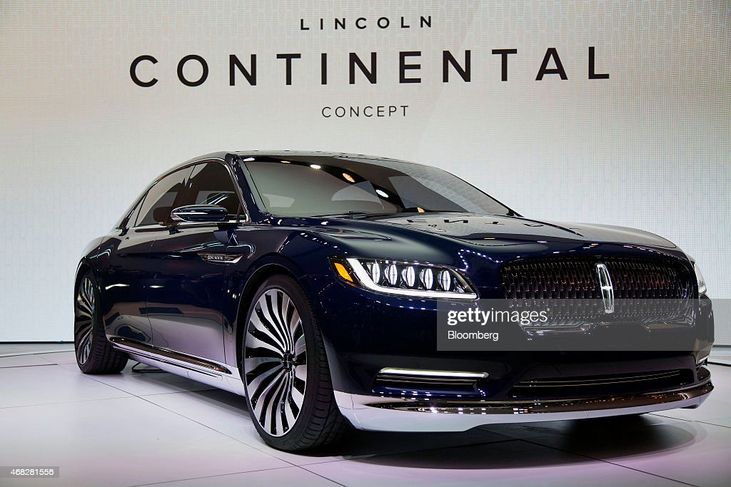 The Ford Motor Co. 2016 Lincoln Continental Luxury Sedan