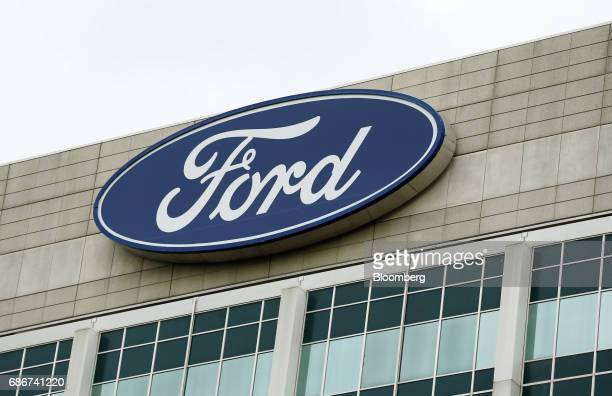 The Ford Motor Co. Headquarters stands in Dearborn, Michigan, U.S., on Tuesday, May 22, 2017. Ford Motor Co.Is replacing embattled chief executive...