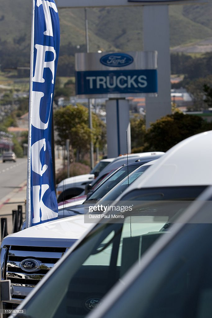 Charming Ford Motor Co. Announces Quarterly Earnings : News Photo