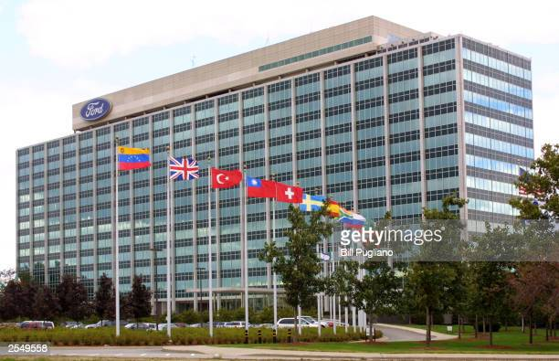 The Ford Motor Company World Headquarters is shown September 30, 2003 in Dearborn, Michigan. Ford Motor Company has announced plans to eliminate...