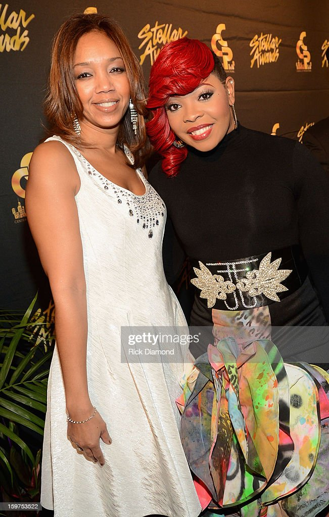 The Ford Motor Company's Multi-Cultural Marketing Manager Shawn Thompson and Alexis Spight arrive to the 28th Annual Stellar Awards Red Carpet at Grand Ole Opry House on January 19, 2013 in Nashville, Tennessee.