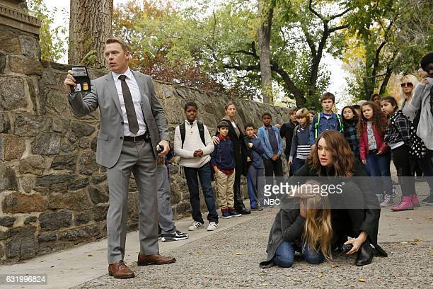 THE BLACKLIST 'The Forecaster #163' Episode 410 Pictured Diego Klattenhoff as Donald Ressler Brooke and Kiley Liddell as Maggie Driscoll Megan Boone...