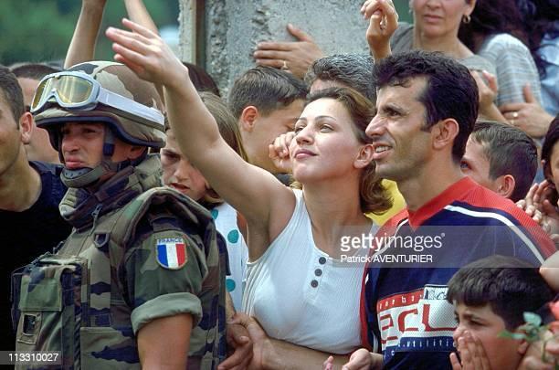 The Foreign Legion In Gnjilane Kosovo On June 13th 1999