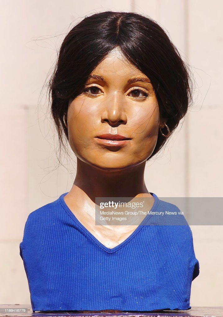 The Forensic Bust Of The Castro Valley Jane Doe Is Displayed On A News Photo Getty Images