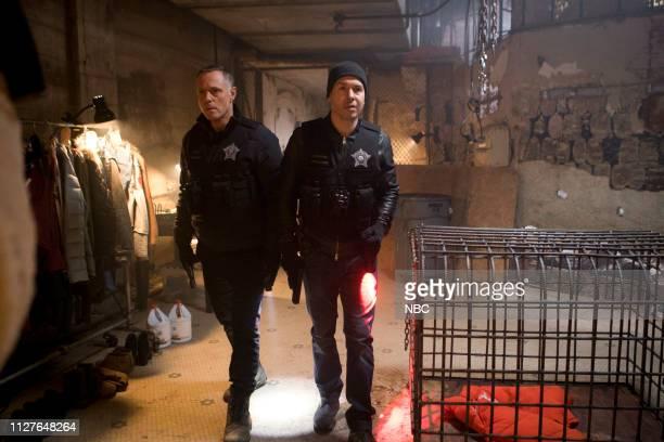 D The Forgotten Episode 616 Pictured Jason Beghe as Hank Voight Jon Seda as Antonio Dawson