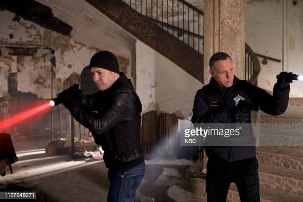 D The Forgotten Episode 616 Pictured Jon Seda as Antonio Dawson Jason Beghe as Hank Voight