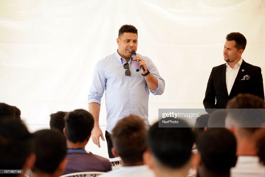 Ronaldo In Ecuador : News Photo