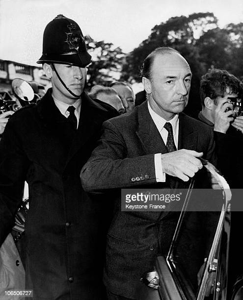 The Former British War Minister John Profumo Coming Back To London After 14 Days Of Absence On June 18 1963