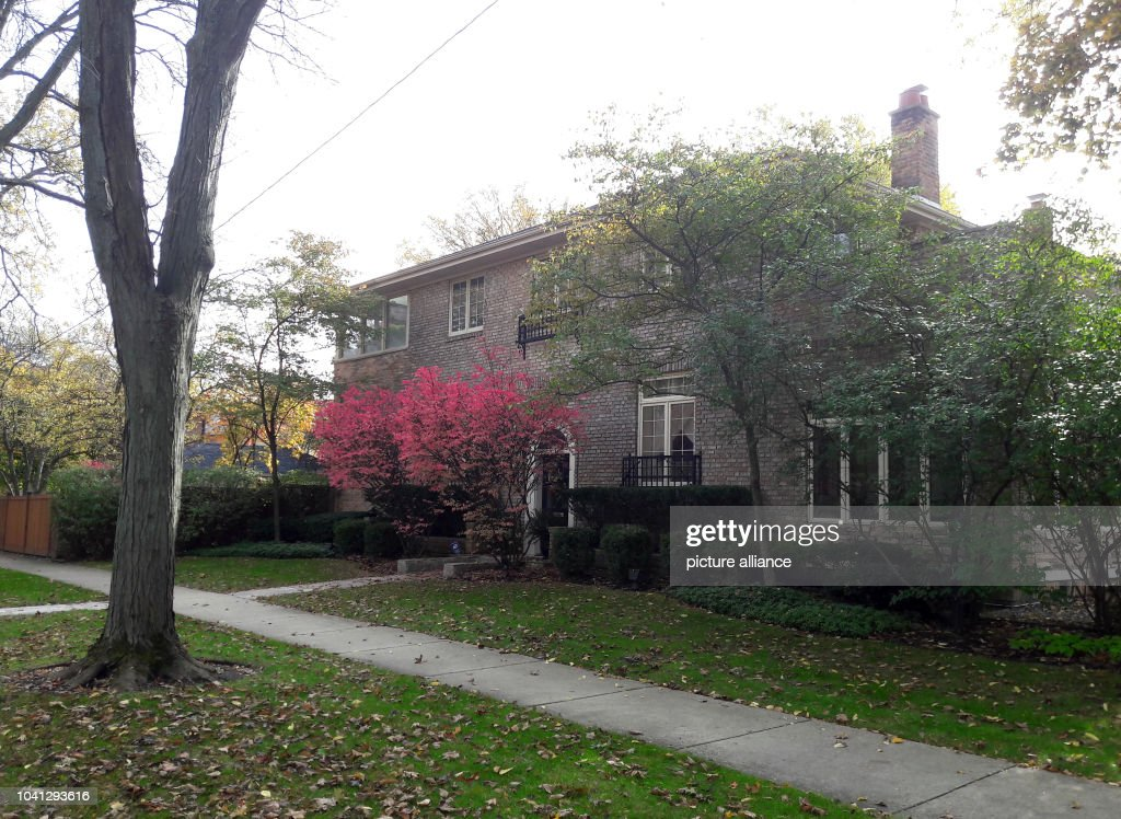 The Former Family Home Of Us Presidential Candidate Hillary Clinton In Park Ridge A Suburb