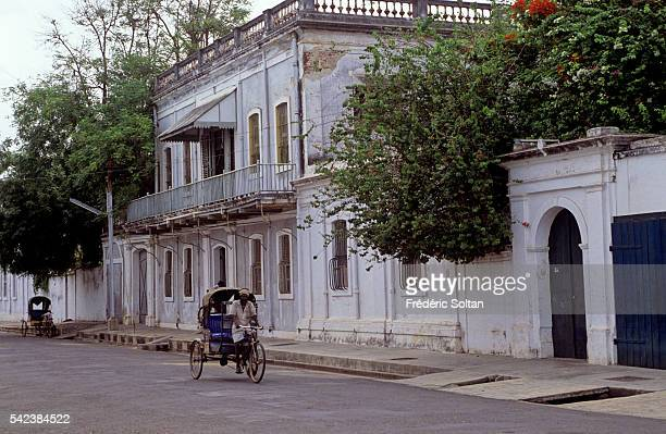 The former French colony of Pondicherry is a Union Territory with a special administrative status Old French trading post