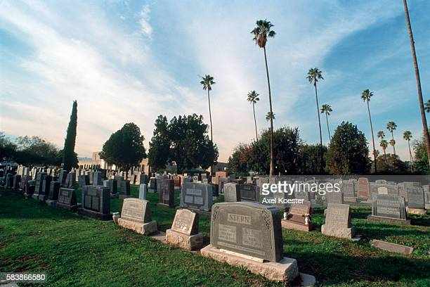The former Hollywood Memorial Park Cemetery was restored and refurbished by the Forever Entreprises Lost of famous people are buried there