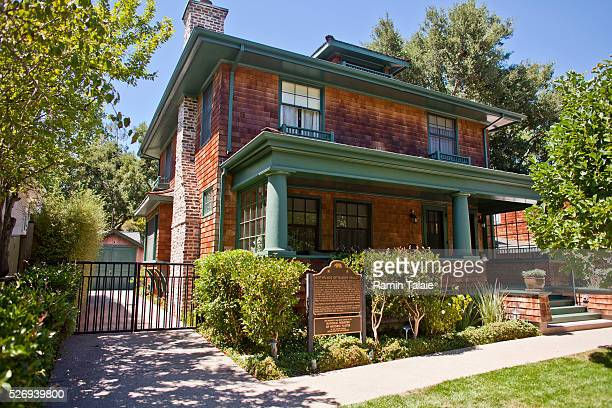 The former home and garage of Hewlett-Packard founders Bill Hewlett and Dave Packard where the company first started in 1938. The house became a...