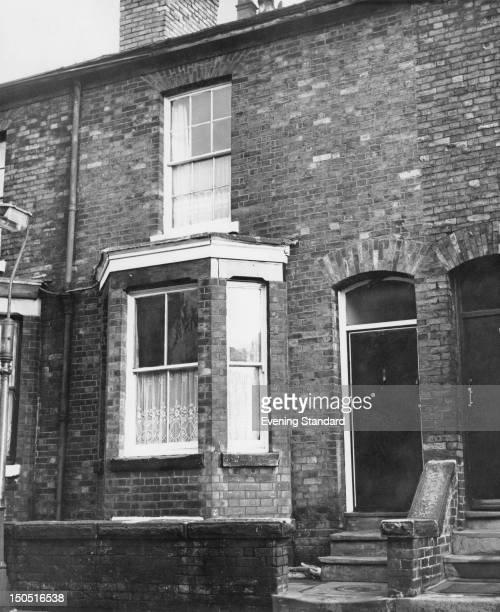 The former home of Moors murderer Ian Brady in Westmorland Road Longsight Manchester1st November 1965