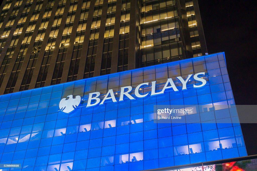 Barclays Capital in New York : News Photo
